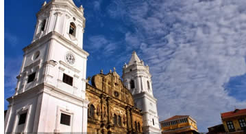 The Cathedral in Casco Viejo, Panama City