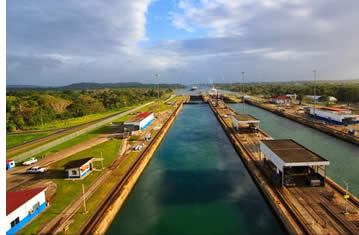 Pedro Miguel Locks of the Panama Canal